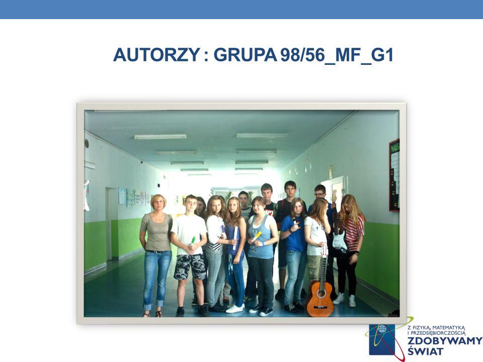 AUTORZY : GRUPA 98/56_MF_G1