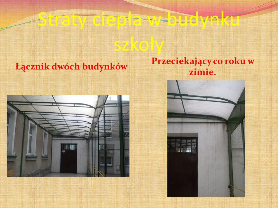 Straty ciepła w budynku szkoły