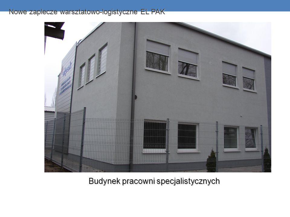 Budynek pracowni specjalistycznych