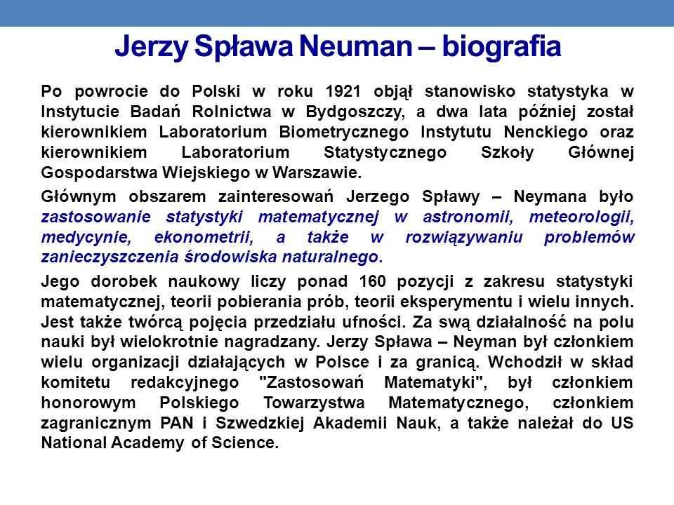 Jerzy Spława Neuman – biografia