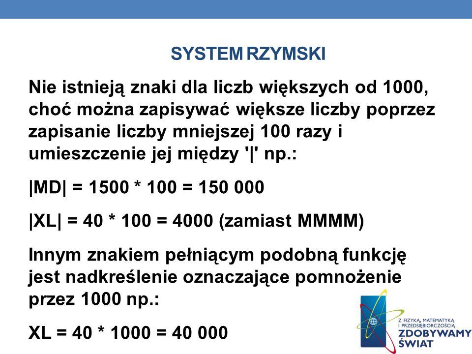 SYSTEM RZYMSKI