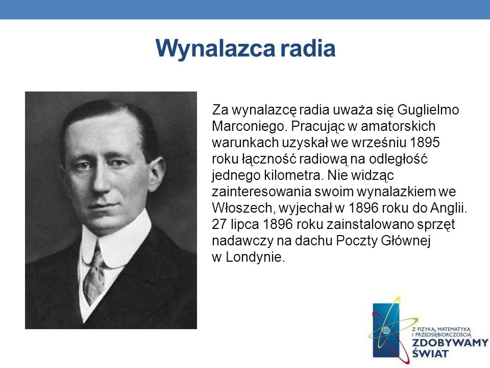 Wynalazca radia