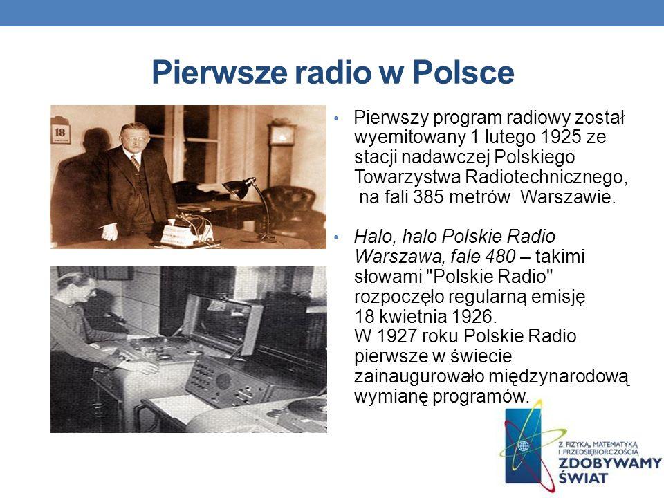 Pierwsze radio w Polsce