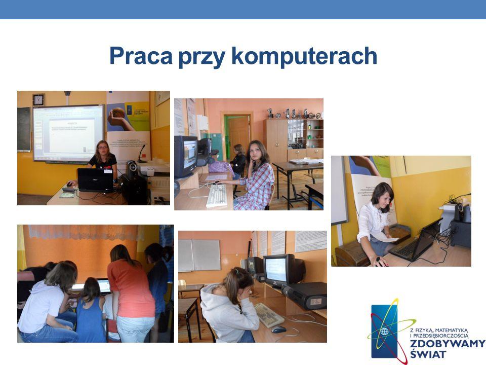 Praca przy komputerach