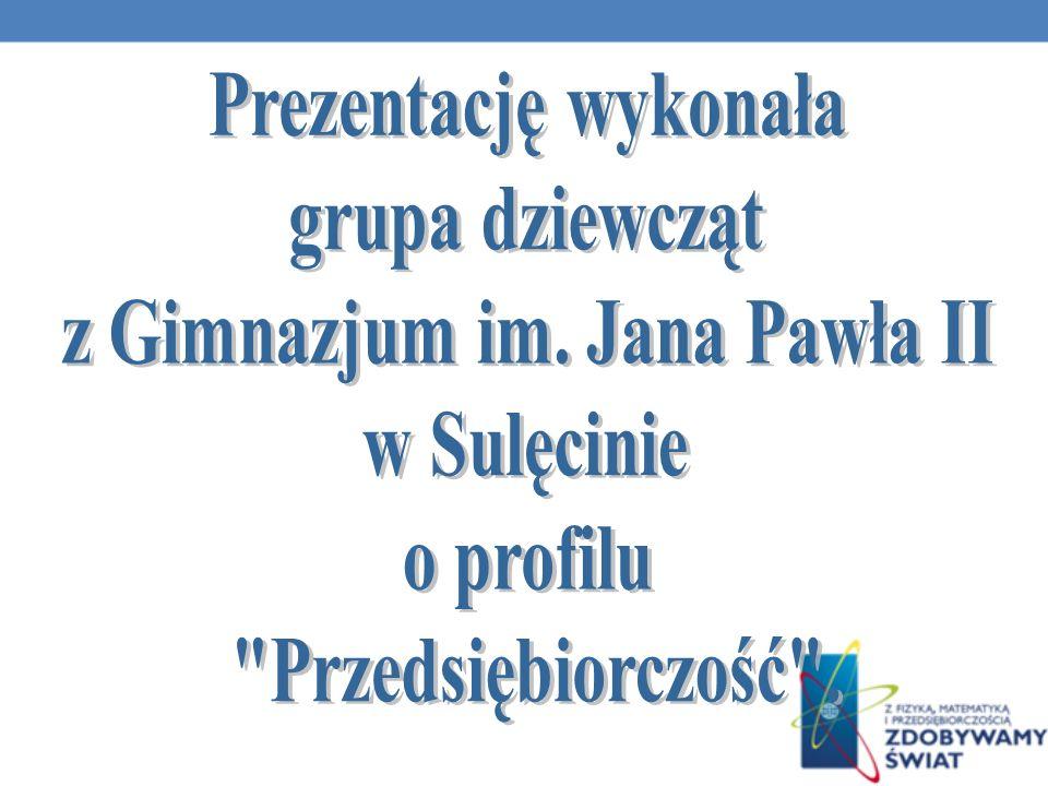 z Gimnazjum im. Jana Pawła II