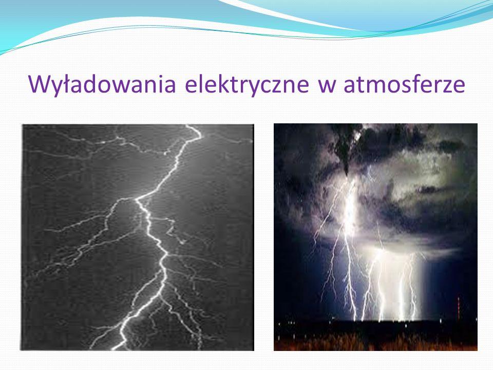 Wyładowania elektryczne w atmosferze