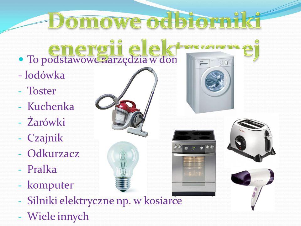 Domowe odbiorniki energii elektrycznej