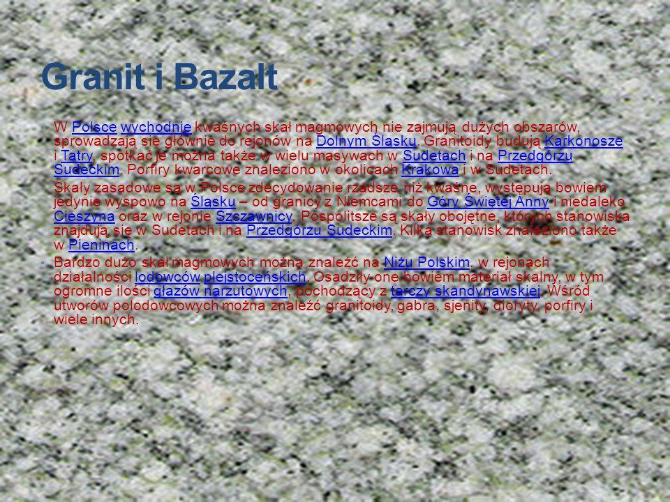 Granit i Bazalt