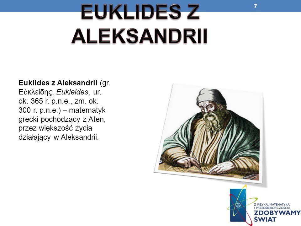EUKLIDES Z ALEKSANDRII