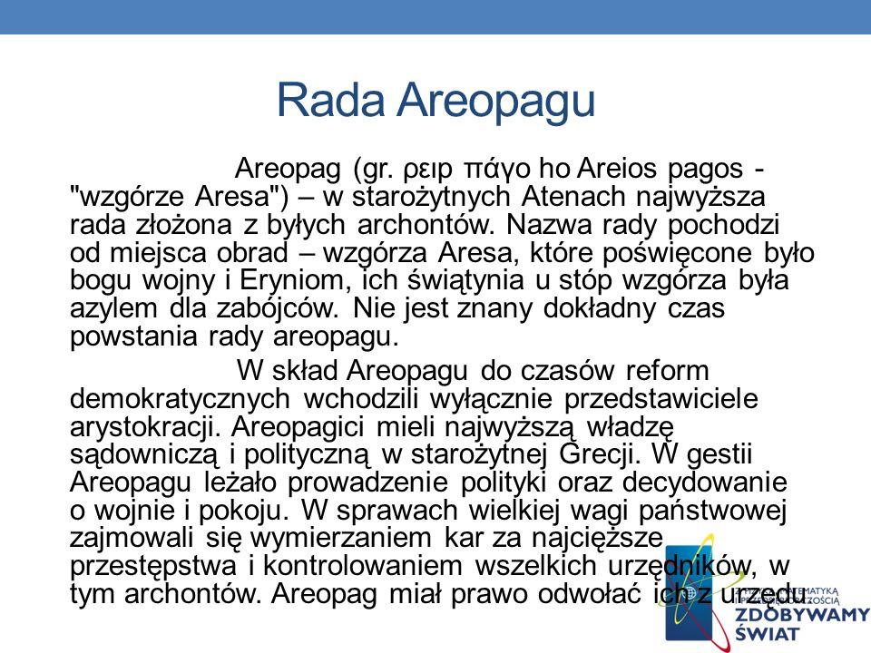 Rada Areopagu