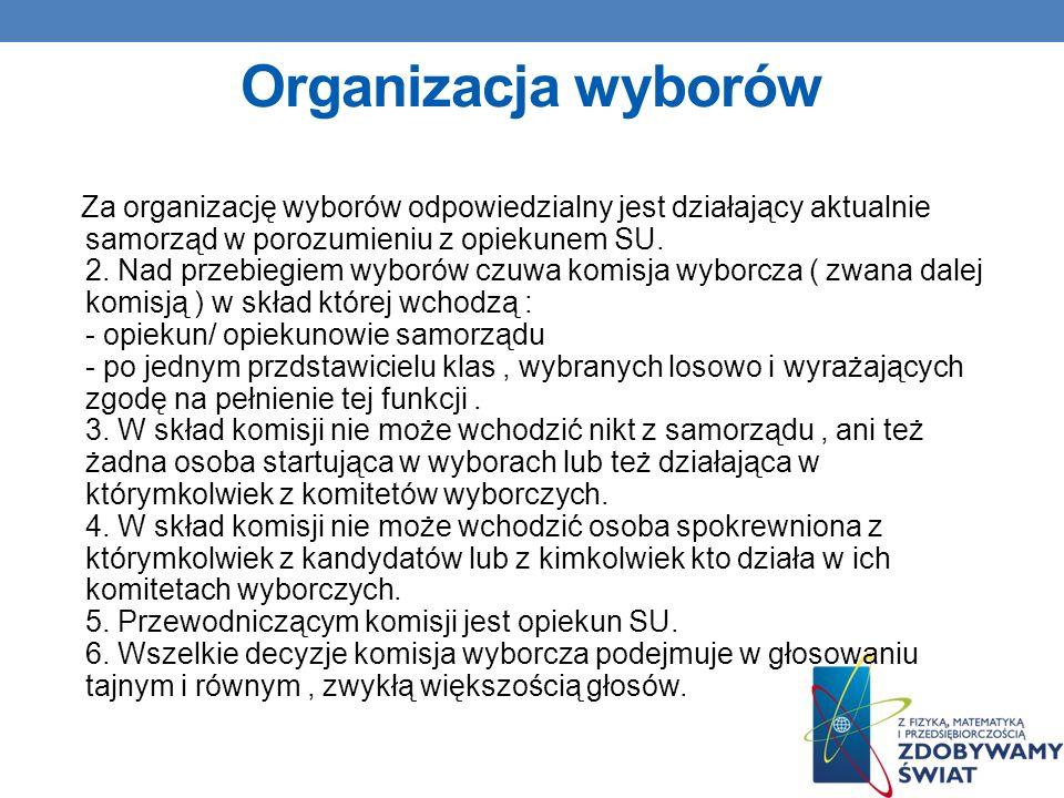 Organizacja wyborów