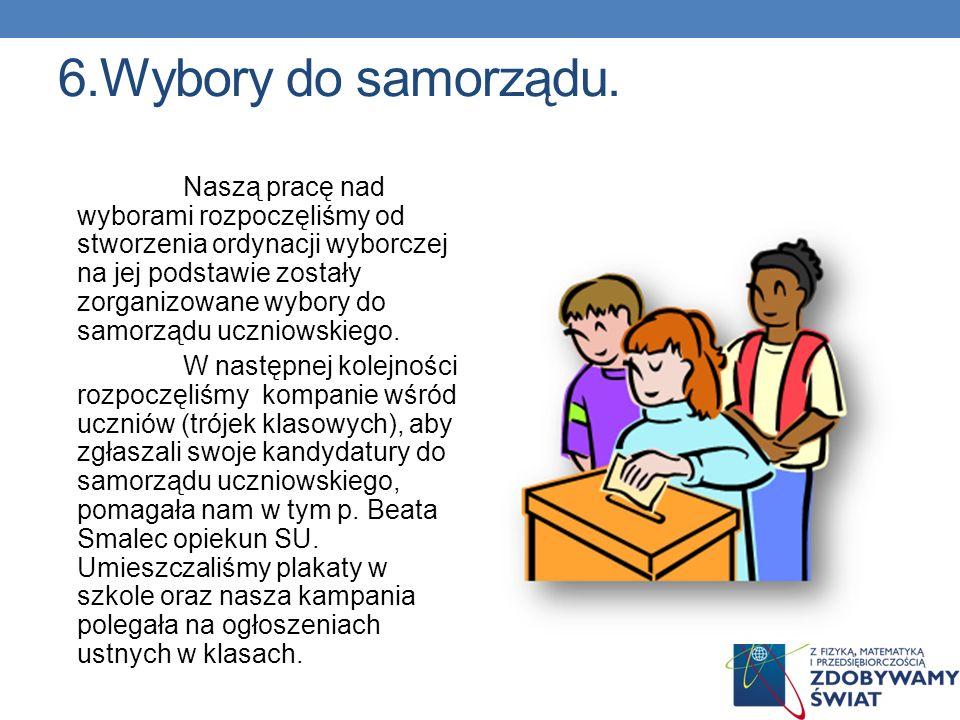 6.Wybory do samorządu.