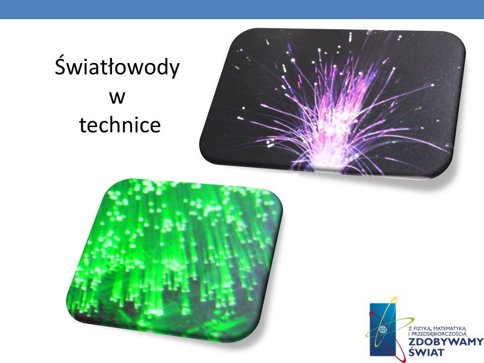 Światłowody w technice