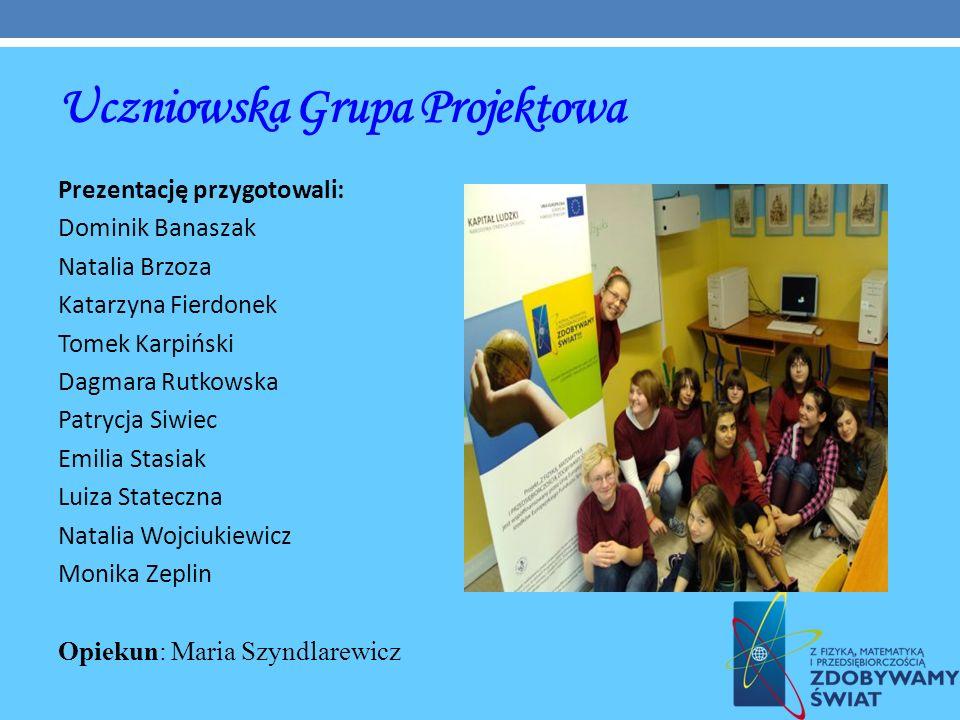 Uczniowska Grupa Projektowa