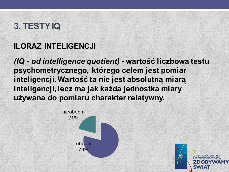 3. Testy IQ