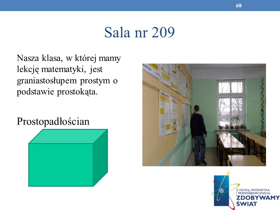 Sala nr 209 Prostopadłościan