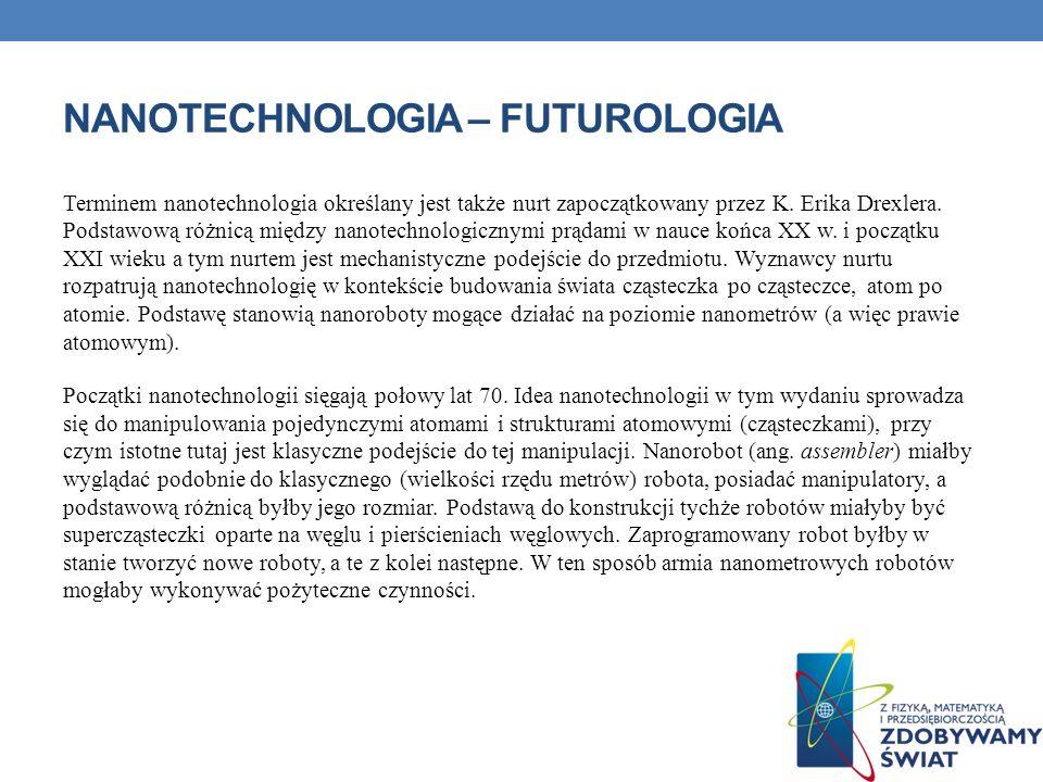 Nanotechnologia – futurologia