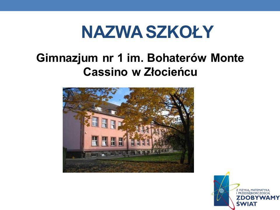 Gimnazjum nr 1 im. Bohaterów Monte Cassino w Złocieńcu
