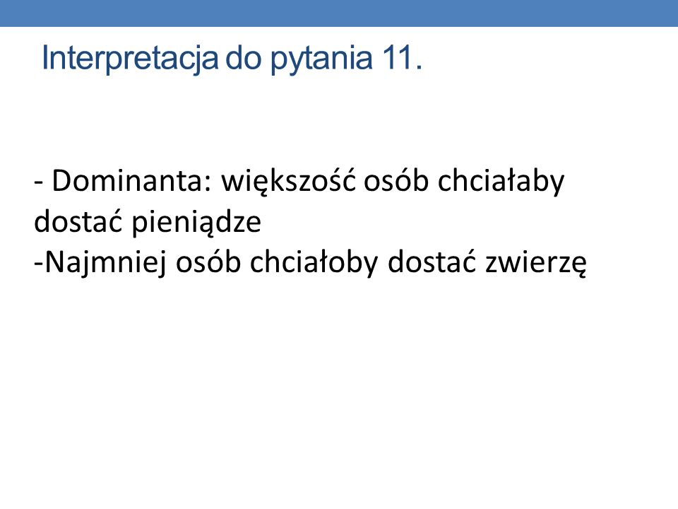 Interpretacja do pytania 11.