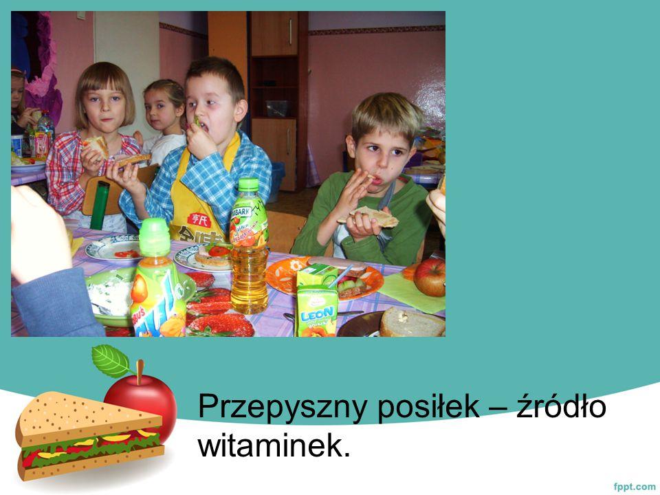 Przepyszny posiłek – źródło witaminek.