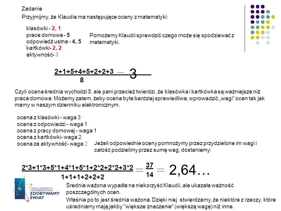 3 2,64… 2+1+5+4+5+2+2+3 8 37 2*3+1*3+5*1+4*1+5*1+2*2+2*2+3*2 14