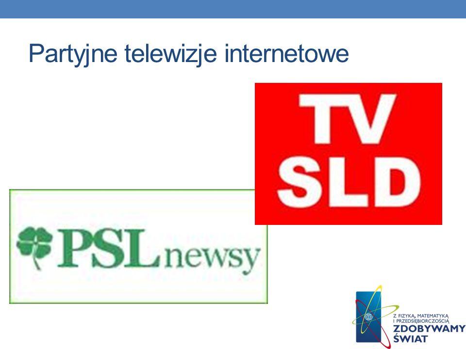 Partyjne telewizje internetowe