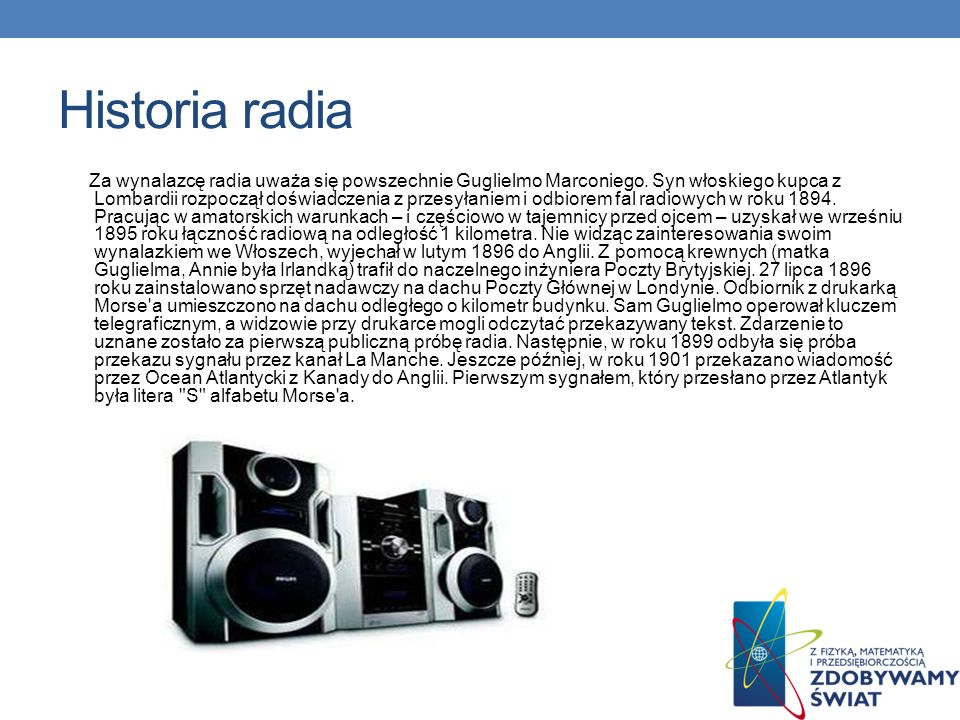 Historia radia