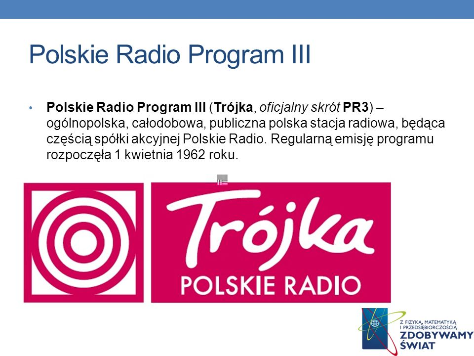 Polskie Radio Program III