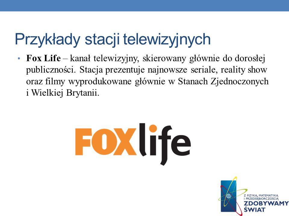 Przykłady stacji telewizyjnych
