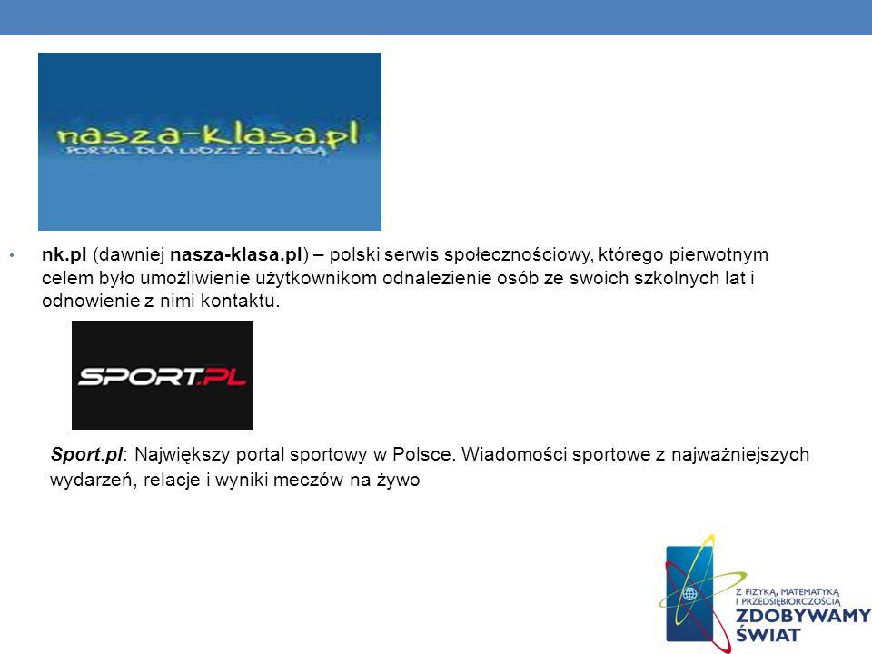 nk. pl (dawniej nasza-klasa