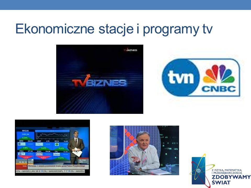 Ekonomiczne stacje i programy tv
