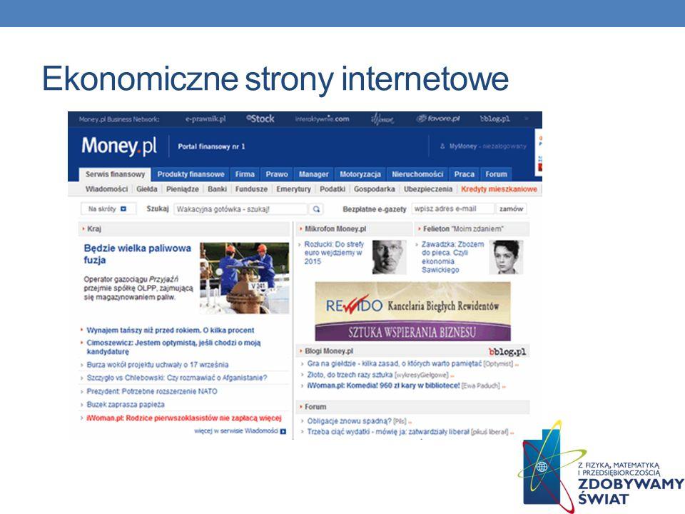 Ekonomiczne strony internetowe
