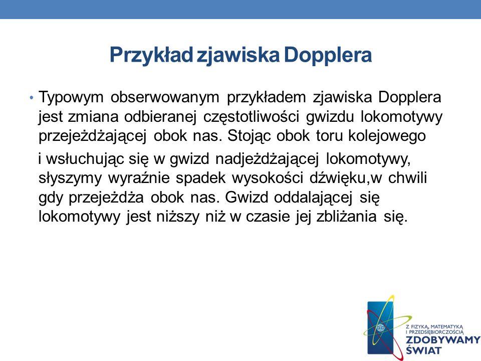 Przykład zjawiska Dopplera