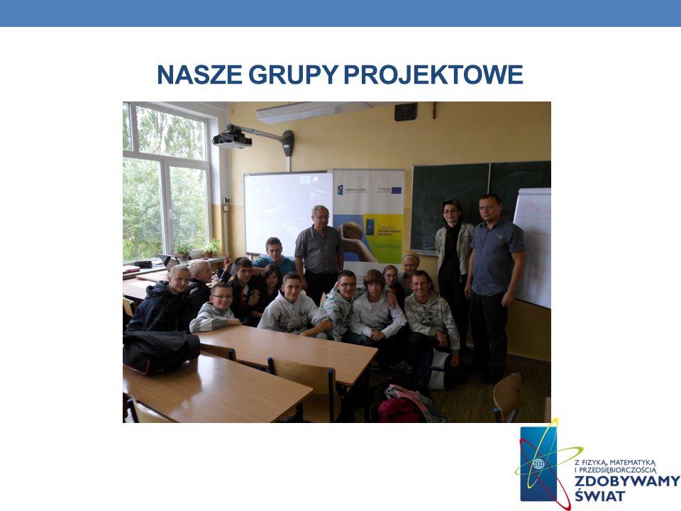 Nasze grupy projektowe