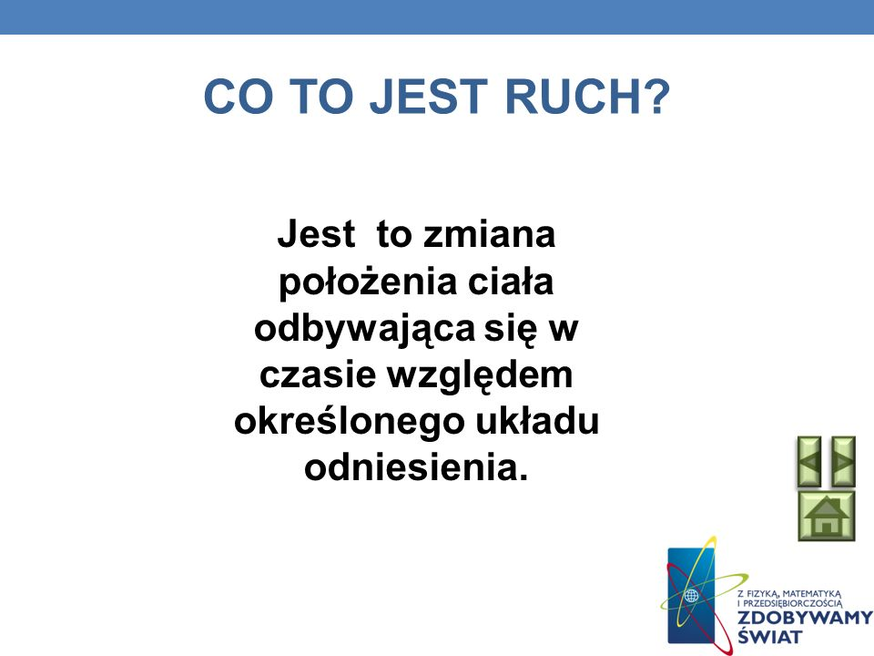 CO TO JEST RUCH.