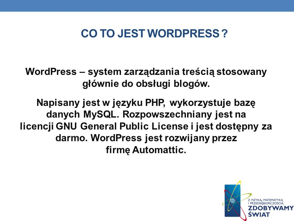 Co to jest WordPress