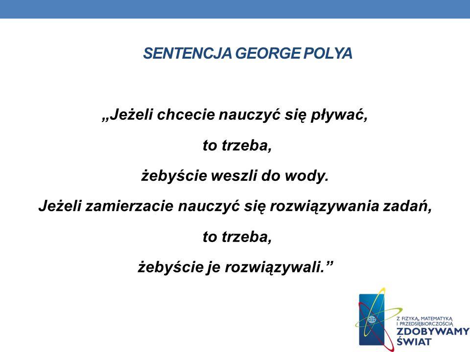 Sentencja George Polya