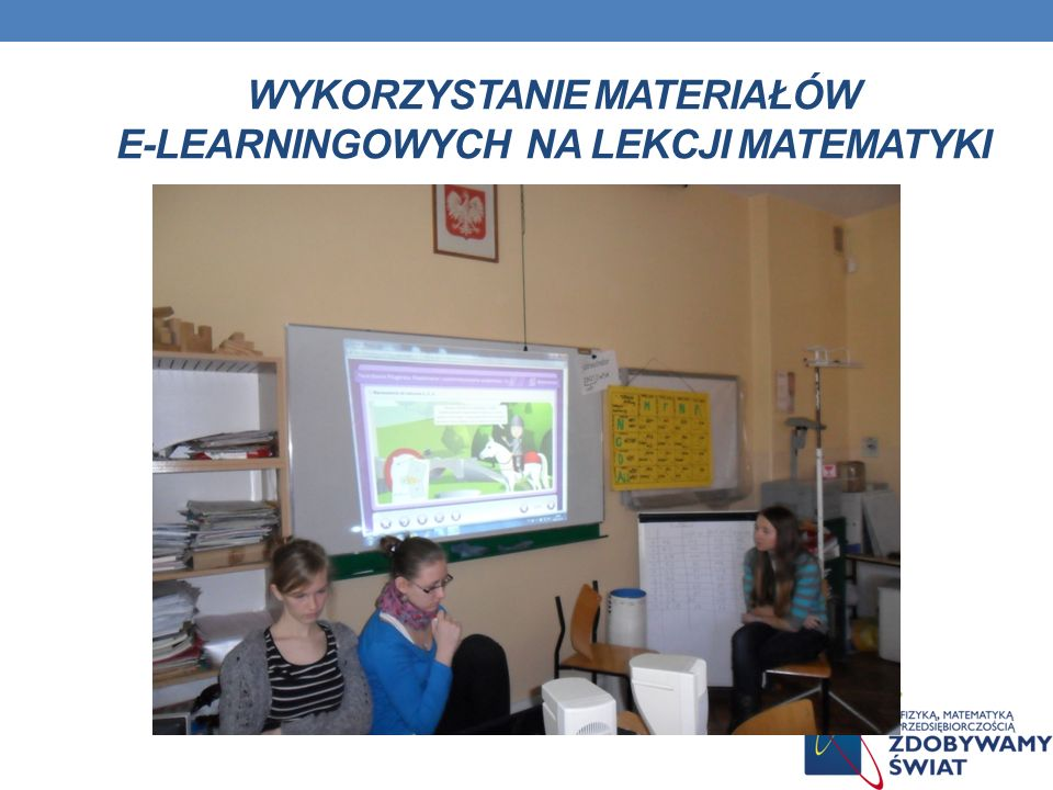 wykorzystanie materiałów e-learningowych na lekcji matematyki