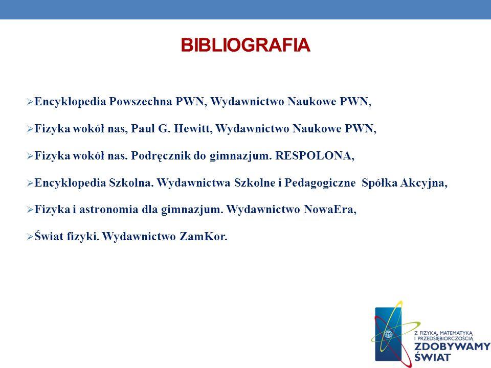 bibliografia Encyklopedia Powszechna PWN, Wydawnictwo Naukowe PWN,