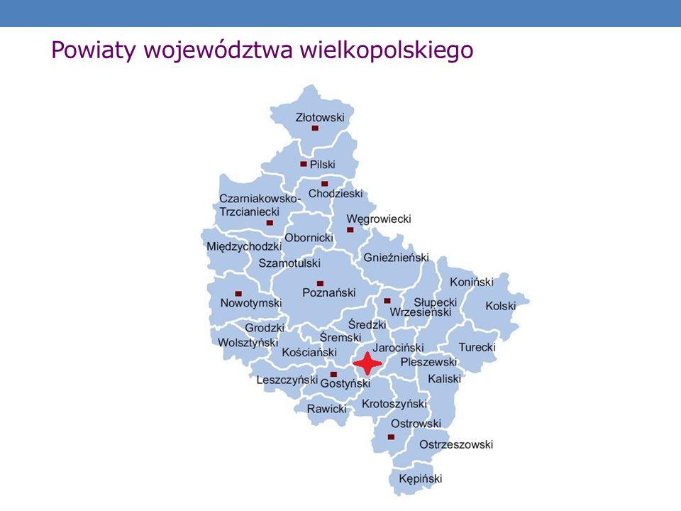 Powiaty województwa wielkopolskiego