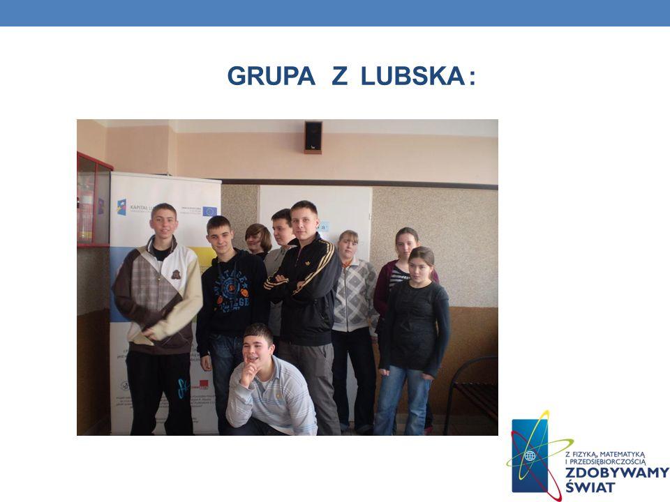 Grupa z lubska :