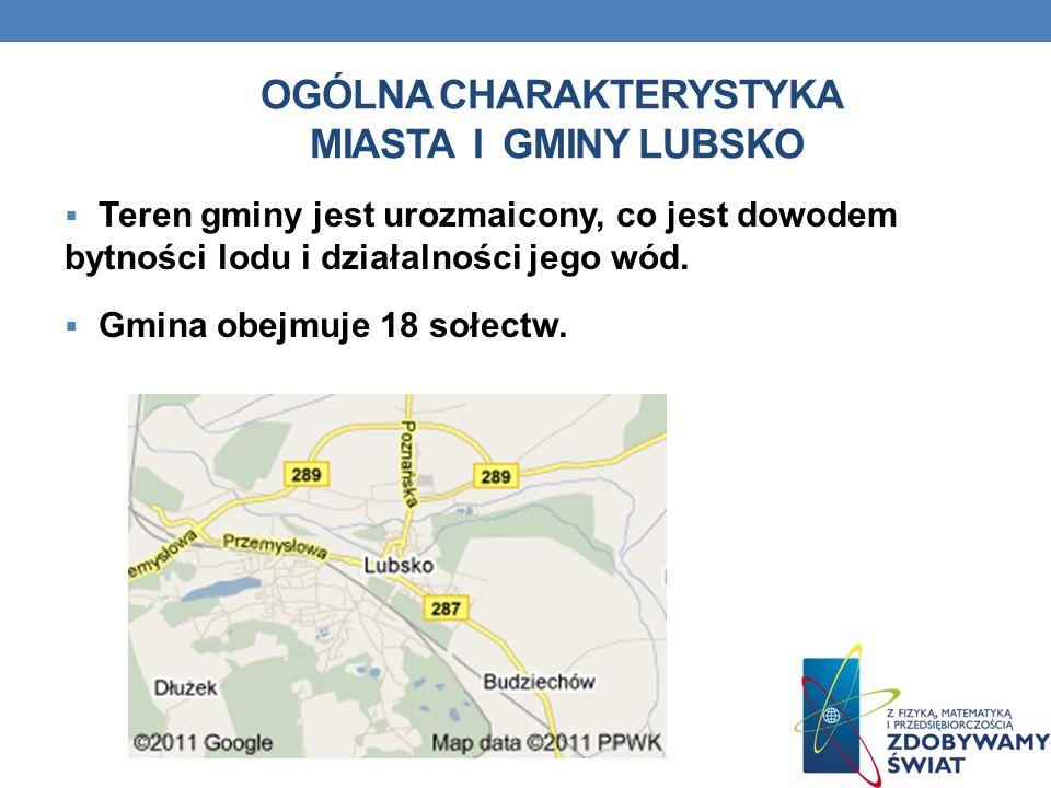 Ogólna charakterystyka miasta i gminy lubsko