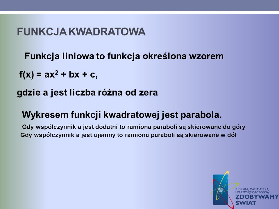 Funkcja kwadratowa