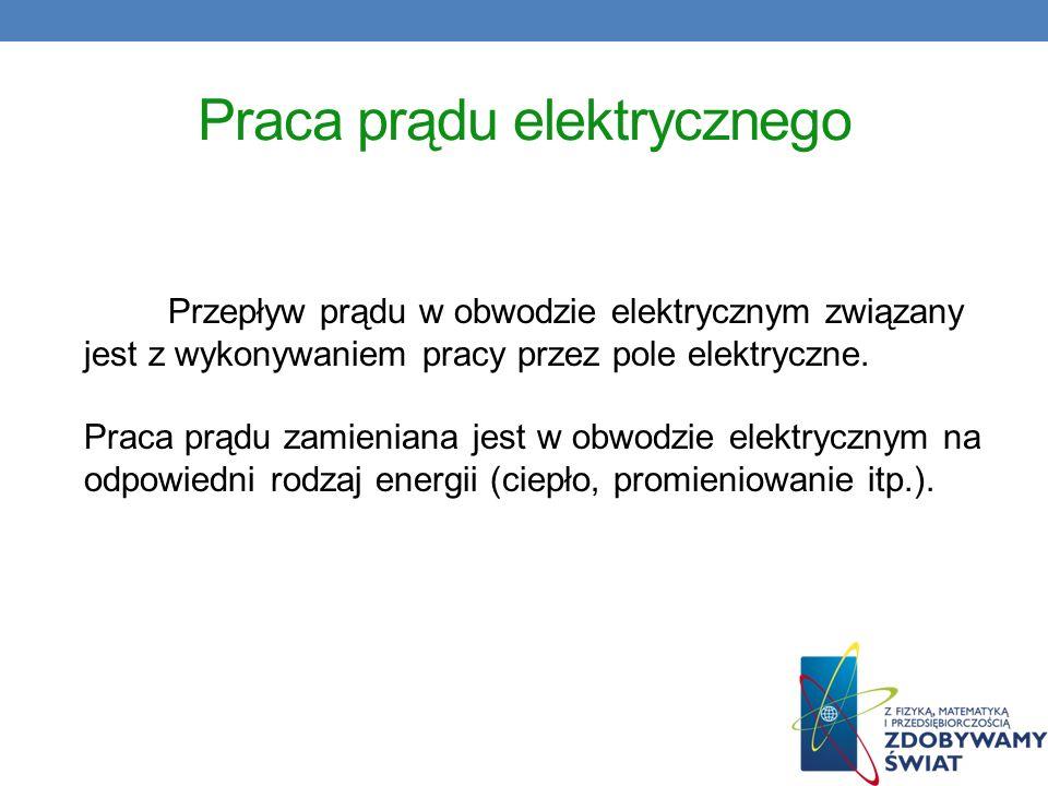 Praca prądu elektrycznego