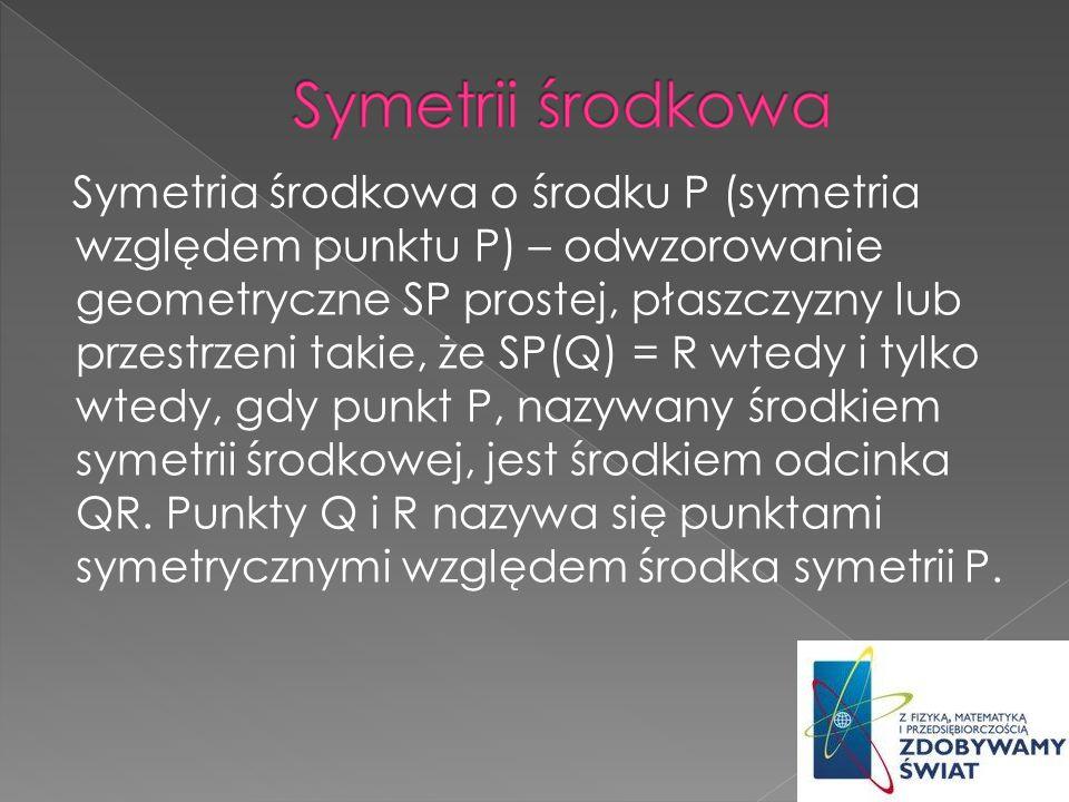Symetrii środkowa
