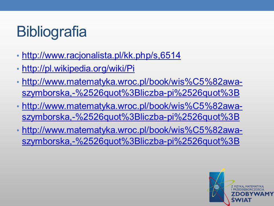 Bibliografia http://www.racjonalista.pl/kk.php/s,6514