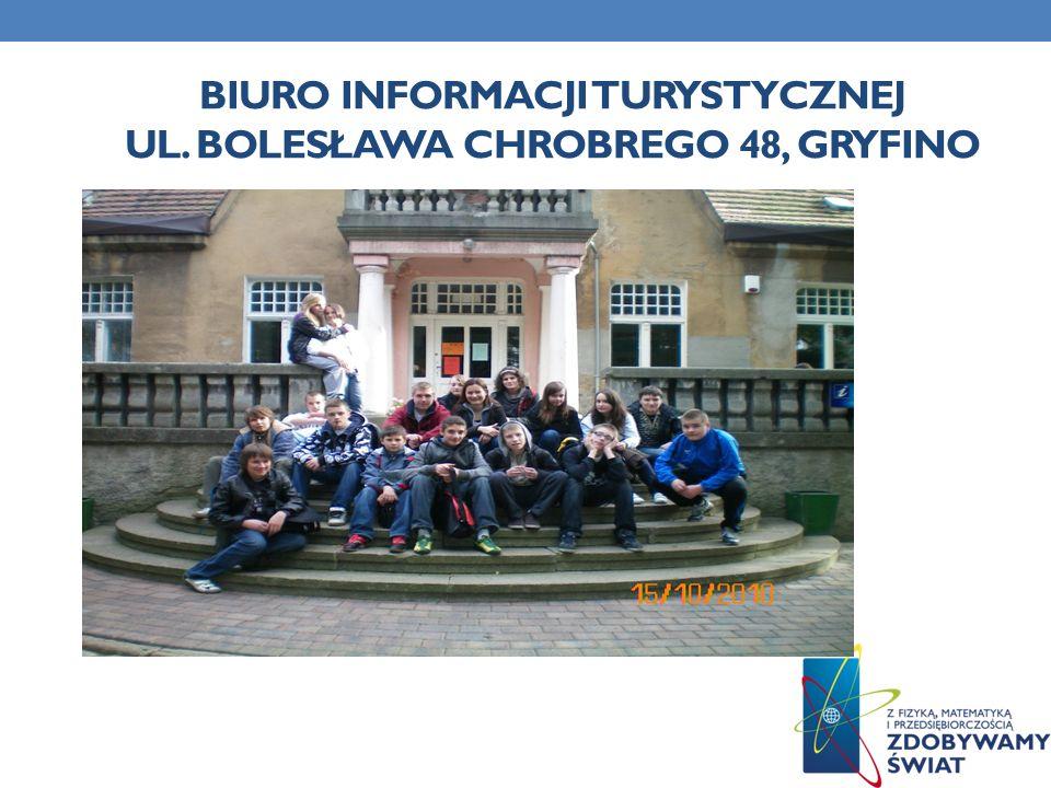 biuro informacji turystycznej ul. Bolesława chrobrego 48, Gryfino