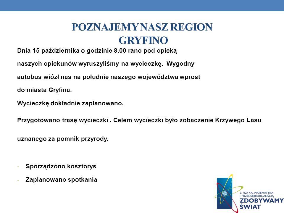 Poznajemy nasz region Gryfino