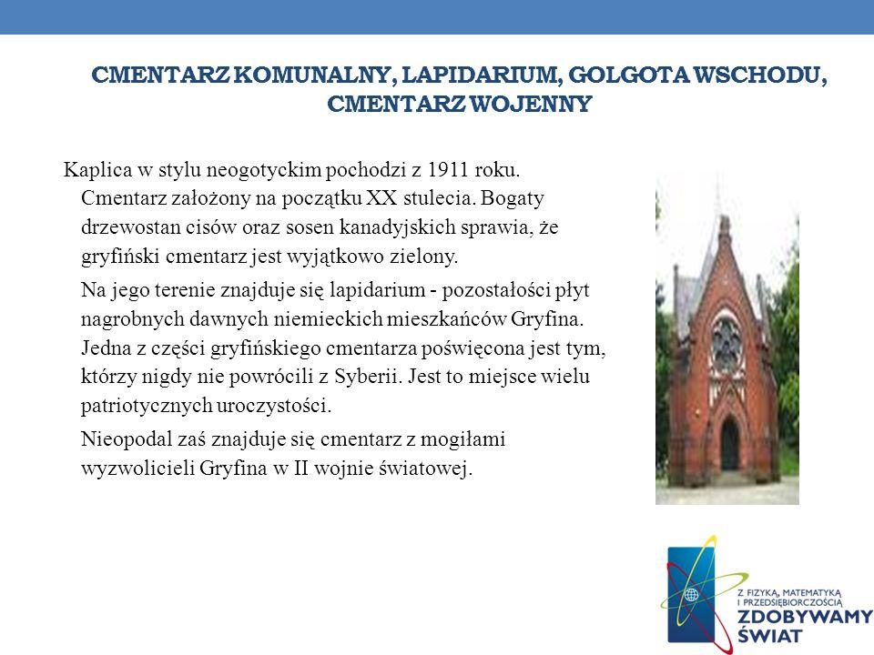 Cmentarz komunalny, Lapidarium, Golgota Wschodu, cmentarz wojenny