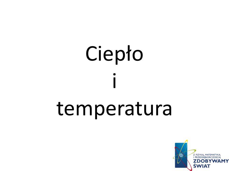 Ciepło i temperatura